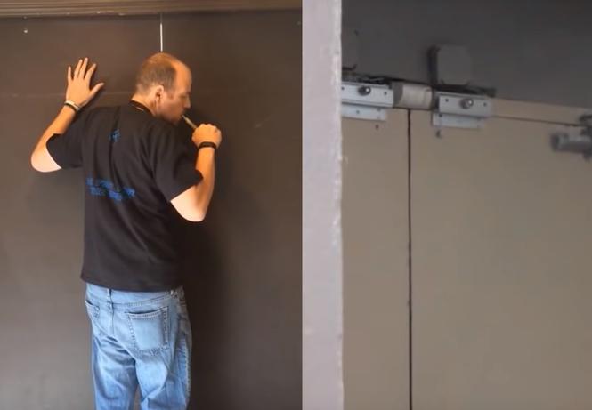 Как с помощью дыма от вейпа открыть сенсорную дверь (видео)