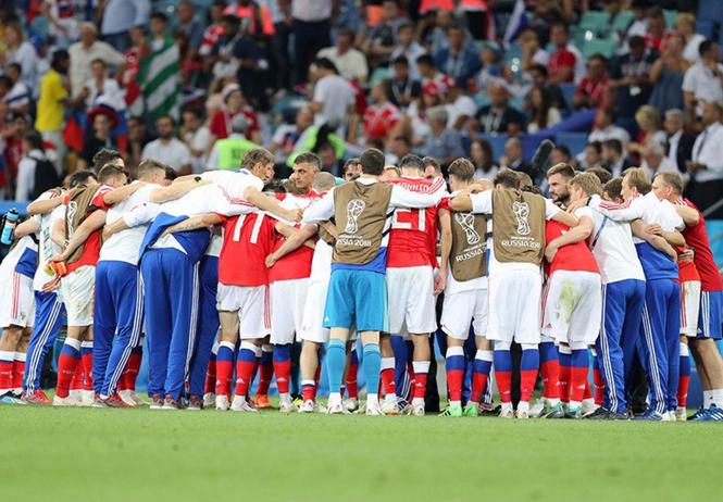 сборная россии проиграла вернула веру страны футбол