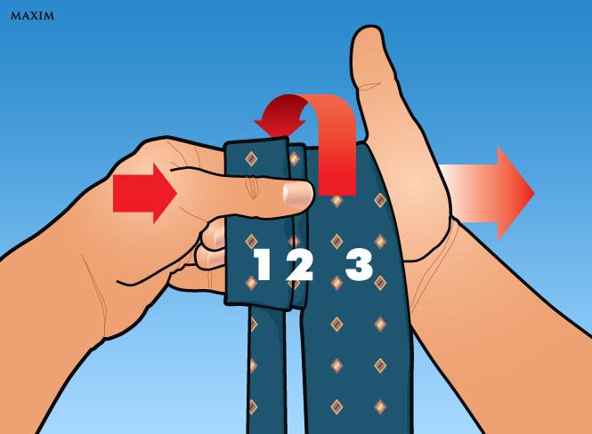 Как завязать галстук за три секунды