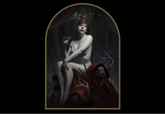 художник недели страхи ужасы дэвида сейдмана