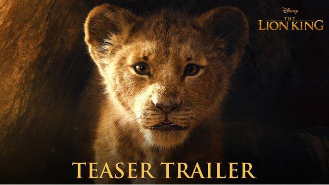 трейлер нового короля льва видео