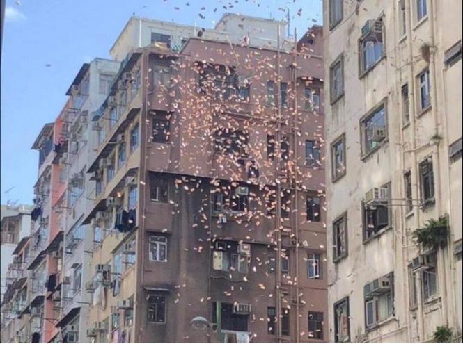 В Гонконге арестован биткоин-миллионер, который разбрасывал деньги с крыши