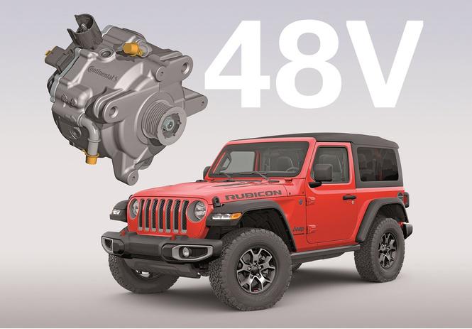 лучшие технологии continental автомобиле jeep wrangler