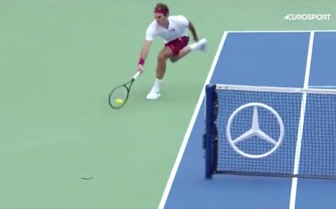 роджер федерер взломал теннис остался рамках правил видео