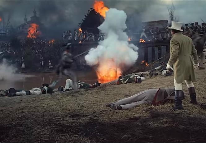 Американский трейлер обновленной версии «Войны и мира» Бондарчука