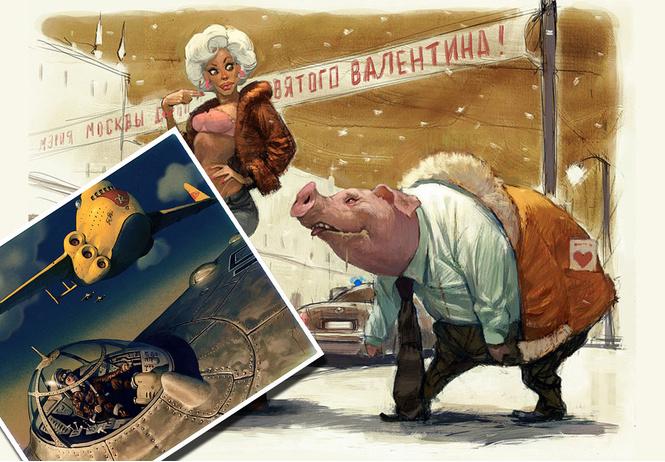 художник недели фантастика фэнтези девушки картинах вальдемара фон