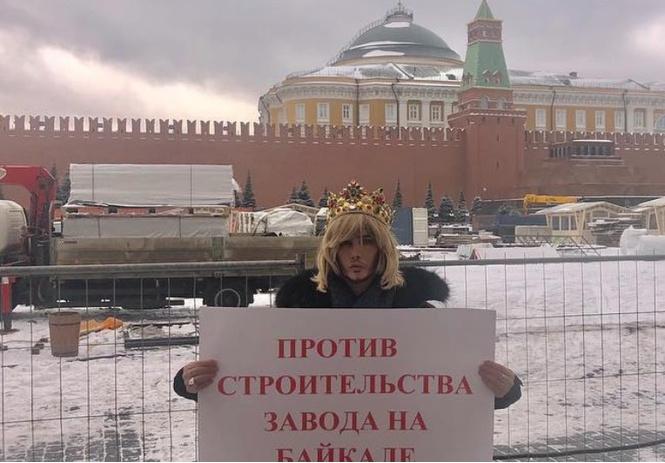 сергея зверева оштрафовали рублей одиночный пикет кремля