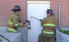 пожарные вскрывают сложные видео