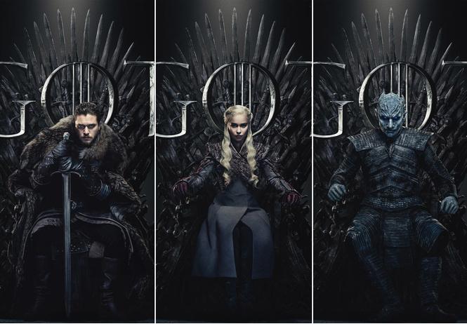 hbo выложила новые постеры финала игры престолов