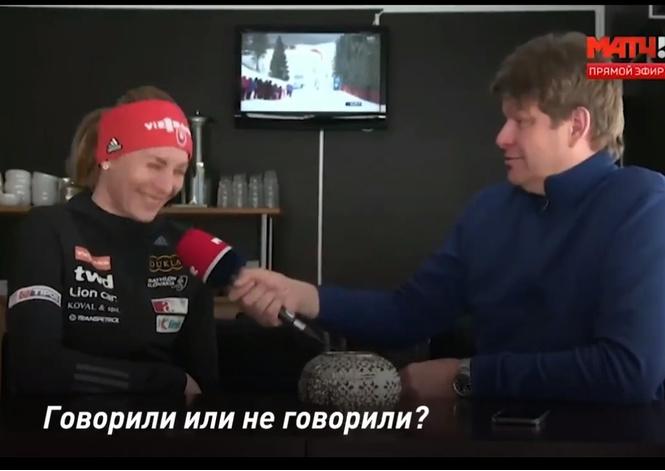 Трехкратная олимпийская чемпионка дала интервью без единого слова (красноречивое видео)
