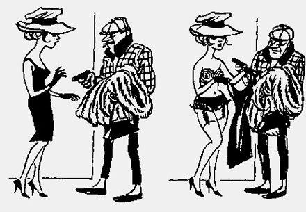 Над чем смеялись наши отцы: карикатуры Херлуфа Бидструпа