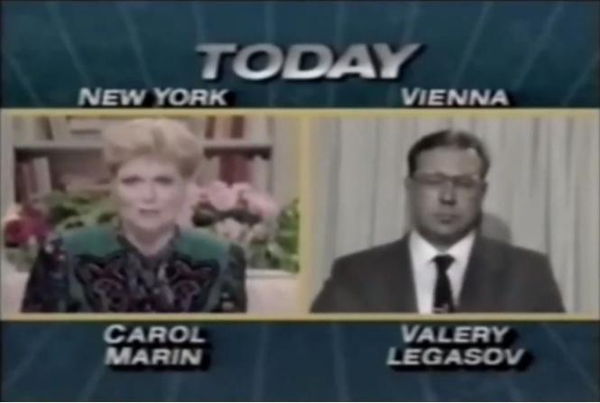 интервью валерия легасова аварии чернобыле телекомпании nbc 1986
