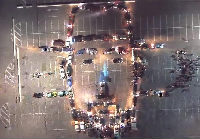 сентября воронежцы выстроили портрет шуфутинского автомобилей видео