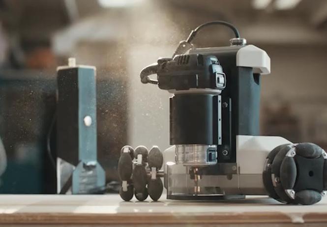 робот-плотник голиаф искусно мебель видео
