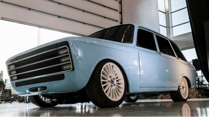 прошлое наступило калашников представил российский электромобиль стиле ретрофутуризма