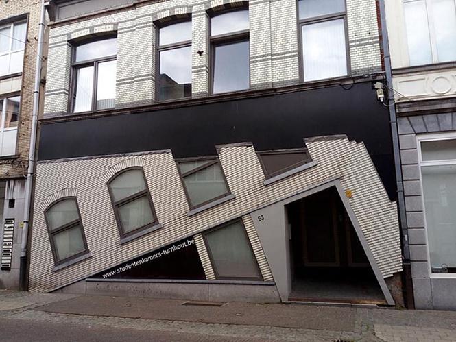 Фотогалерея самых уродливых бельгийских домов