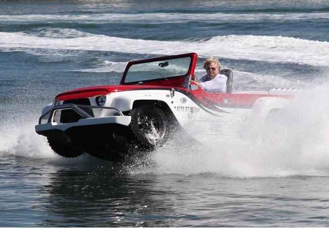 поехать поплыть самые странные успешные попытки создать лодкомобиль