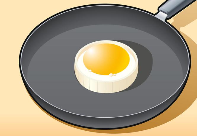 Совет без слов: как сделать идеальную яичницу