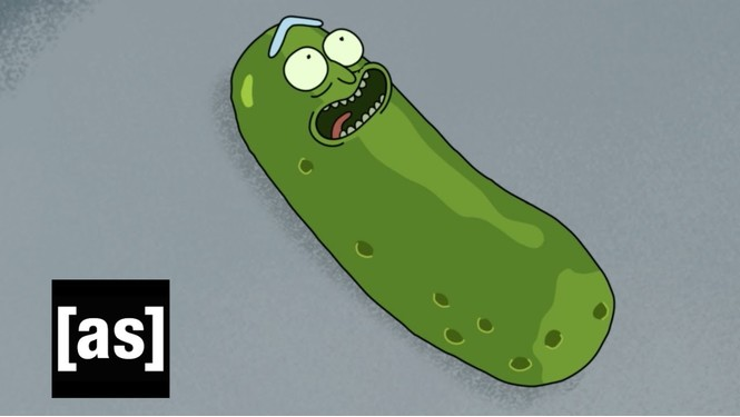 Создатели «Рика и Морти» анимировали неудачную озвучку огурца (видео)
