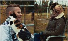 кошка сорвала интервью получилось видео