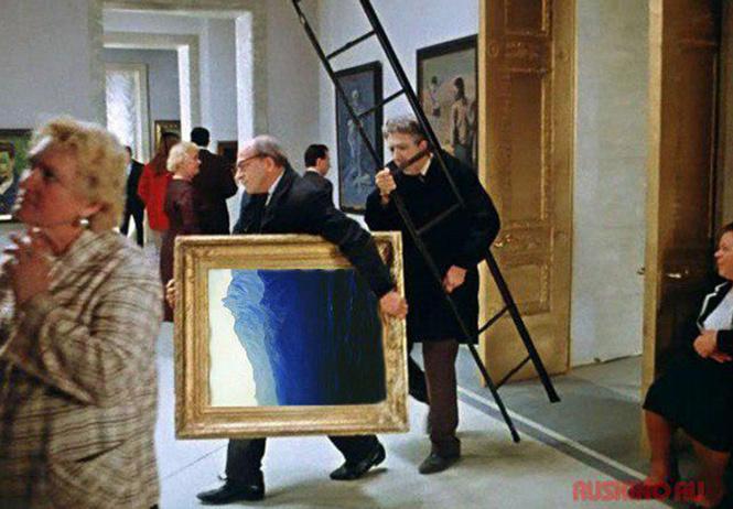 Лучшие шутки о краже картины Куинджи «Ай-Петри. Крым»