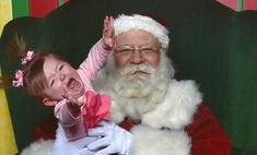 ужас рождественская фотоподборка напуганных вусмерть детей