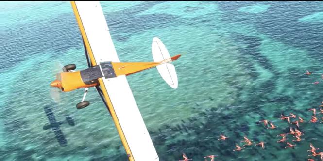 microsoft выпустит версию flight simulator 2020 видео