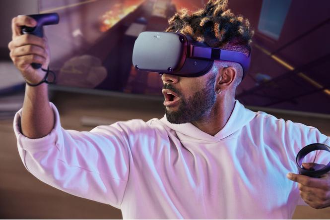Oculus анонсировал шлем виртуальной реальности Quest