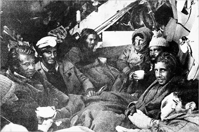 72 дня каннибализма: годовщина авиакатастрфы в Андах