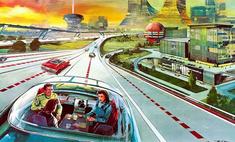 вид будущее 50-х глазами артура радебоха иллюстрация