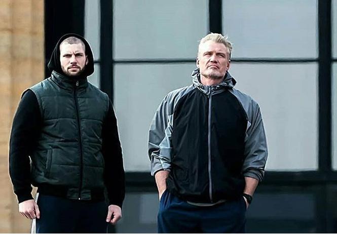 В Сети появилось видео тренировки Дольфа Лундгрена и Флориана Мунтяну в преддверии «Крида 2»