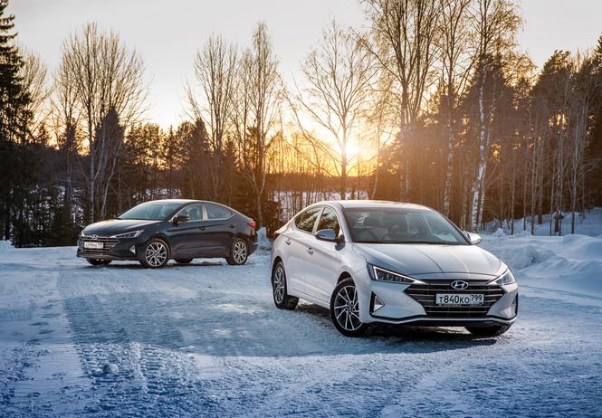 Hyundai удивила ценой обновленной Elantra