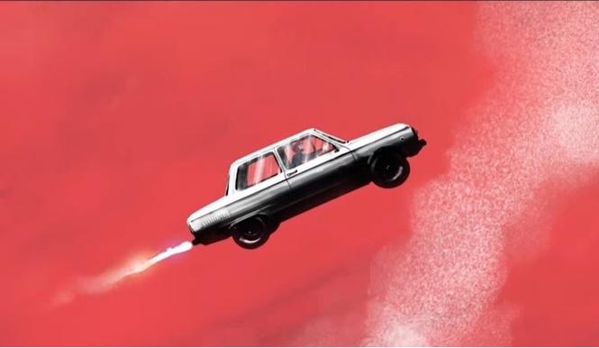 клип монеточки запорожец запуск пилотируемого автомобиля космос любовь