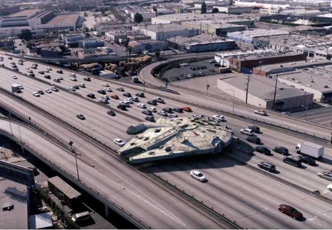 выглядели корабли звездных войн сравнению городами земли видео