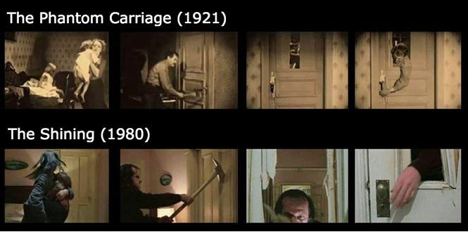 культовую сцену фильма сияние кубрик скопировал древнего шведского