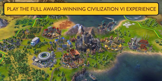 Вышла полная версия Civilization VI для iPhone (видео)