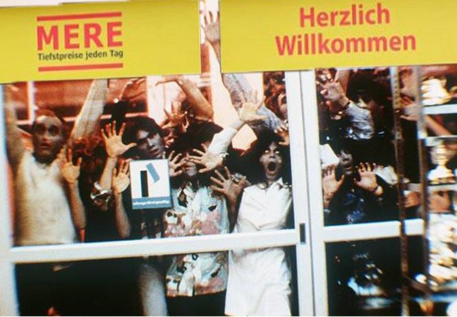 Сибирский супермаркет в Лейпциге закрыли после того, как немецкие покупатели скупили все продукты и дрались у касс