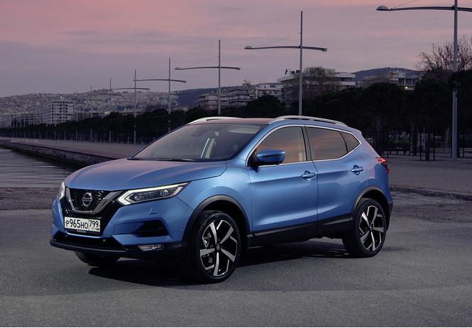 Nissan Qashqai: альфа-самец