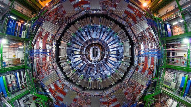 большой адронный коллайдер закрыли двухлетний ремонт
