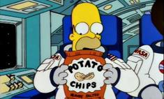 Вот сколько воздуха в упаковках чипсов (видео)