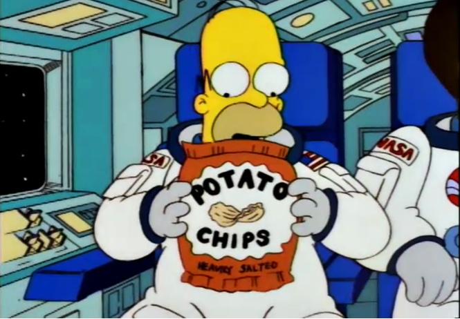 Вот сколько воздуха в упаковках чипсов! (красноречивое ВИДЕО прилагается)