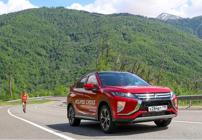 Mitsubishi снова поддержит праздник бега ROSA RUN