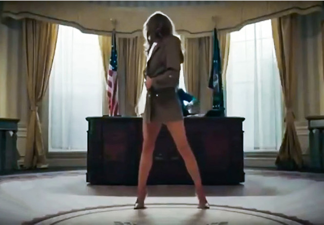 рэпер снял политический клип дональдом трампом стриптизершей похожей
