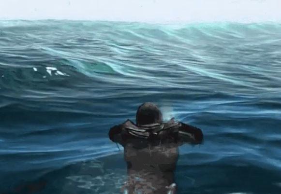 """Геймер доплыл до конца карты в Assassin's Creed IV: """"Чёрный флаг"""" (Залипательное видео)"""
