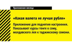 лучших приложений месяца версии газеты комсомольский комсомолец