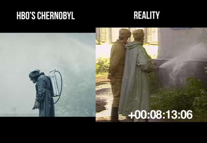 показали сериале чернобыль деле сравнительное видео