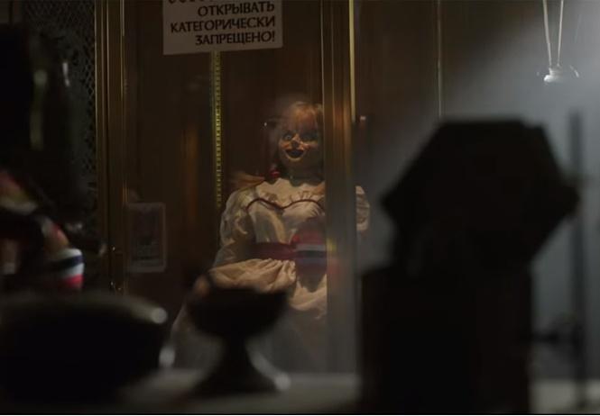 русский трейлер третьего фильма проклятие аннабель