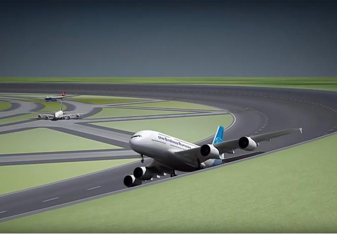 Голландцы хотят взлетно-посадочные полосы сделать кольцевыми
