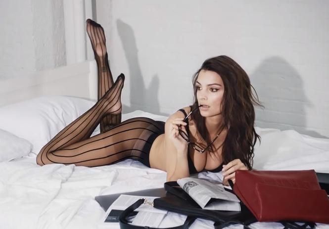 эмили ратаковски снялась рекламе нижнего белья мгновенно улучшающее