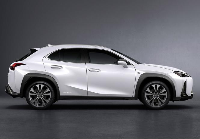 Спортслово: кроссовер Lexus UX